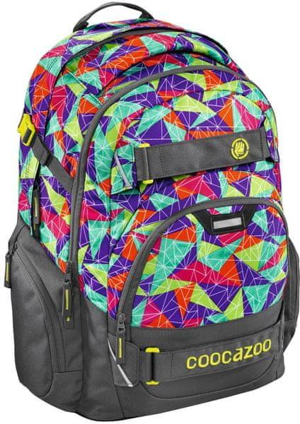 CoocaZoo Školní batoh CarryLarry2 Solid Pyramid