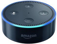Amazon Echo DOT black - reproduktor s umelou inteligenciou, čierna (EÚ distribúcia) + redukcia EÚ