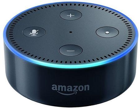 Amazon Echo DOT black - reproduktor s umělou inteligencí, (EU distribuce) + redukce EU