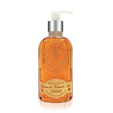 Jeanne En Provence Tekuté mýdlo na ruce Bambucké máslo a med (Shea Butter & Honey Liquid Soap) 300 ml