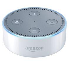 Amazon Echo DOT white - reproduktor s umelou inteligenciou, (EÚ distribúcia) + redukcia EÚ