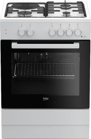 Beko kombinirani štednjak FSS63010DW