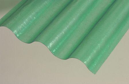 LanitPlast Sklolaminátová role 76/18 výška 2,5 m zelená 1 m