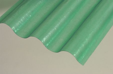 LanitPlast Sklolaminátová role 76/18 výška 2,5 m zelená 25 m