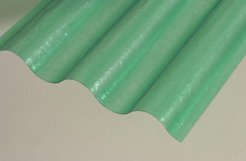 LanitPlast Sklolaminátová role 76/18 výška 1,0 m zelená 5 m