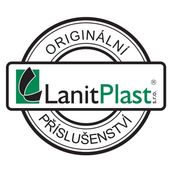 LanitPlast Vrut do dřeva 4x70 mm půlkulatá hlava kříž