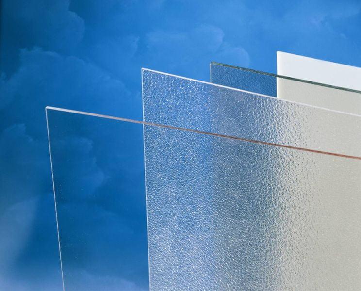 LanitPlast Polykarbonát plný 5 mm opál 2,05x1,016 m