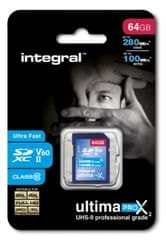 Integral memorijska kartica 64GB UltimaPro X2