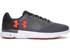 Under Armour Micro G Speed Swift 2 Rhino Gray White Phoenix Fire