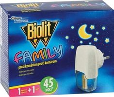 Biolit Family elektrický proti komárom s tekutou náplňou 2x45 nocí