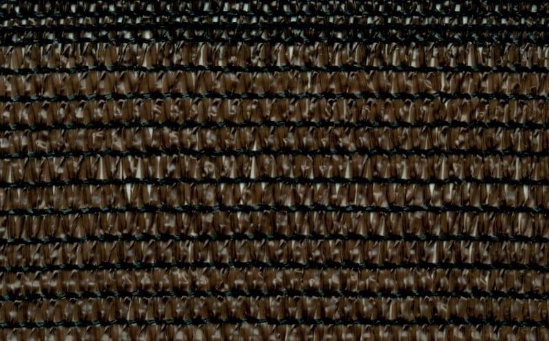 TENAX SPA stínící síť SOLEADO CORTEN 90% 2m x 50m, hnědá