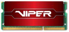 Patriot pomnilnik (RAM) 8GB DDR4 2400 1.2V CL15 SODIMM Viper Red (PV48G240C5S)