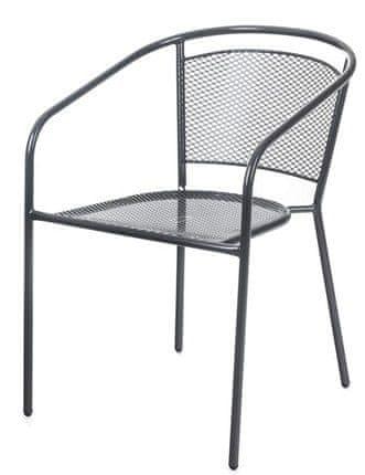 Happy Green Židle zahradní ocelová