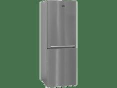 BEKO CNA340KCOX Szabadonálló, alulfagyasztós hűtőszekrény