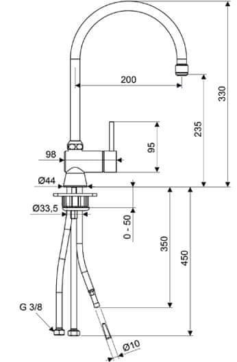 STIEBEL ELTRON beztlaková baterie MEWC 299188