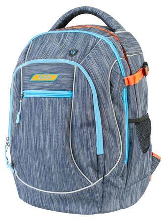 Target nahrbtnik Air Pack Melange Titanium 21401