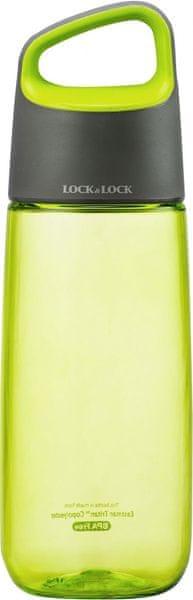 Lock&Lock Láhev Bisfree Soft Handle 510 ml, zelená