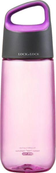 Lock&Lock Láhev Bisfree Soft Handle 510 ml, růžová
