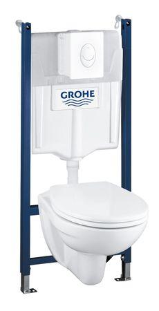 Grohe Solido WC 4 az egyben szett 39116000
