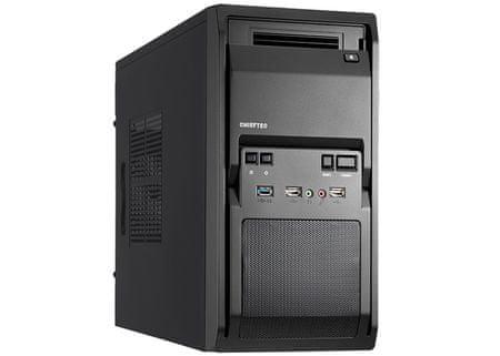 Chieftec kućište LT-01B-350GPB mATX 350W USB3