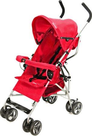 Sun Baby Wózek spacerowy Barton, czerwony
