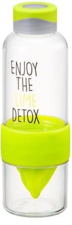 Lock&Lock Láhev Bisfree Detox 520 ml, zelená
