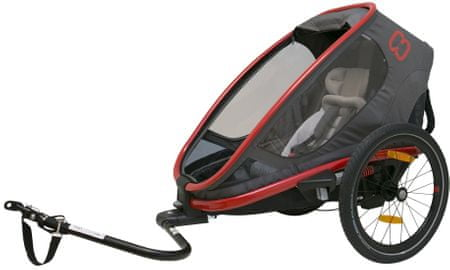 Hamax Outback ONE grey/red/antracit