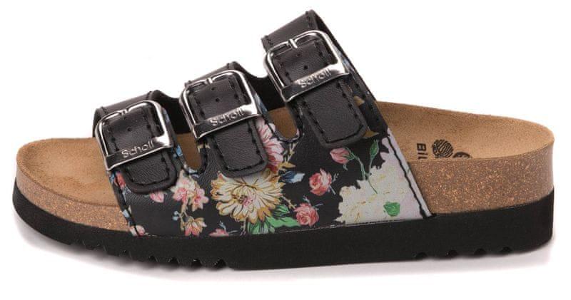 Scholl dámské pantofle Rio 36 černá
