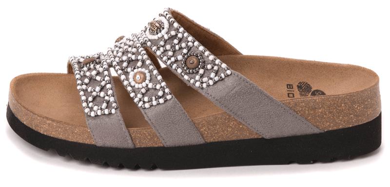 Scholl dámské pantofle Kiel Adapta 40 šedá