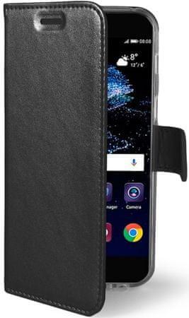 Celly Flip-kryt Air (Huawei P10 Lite), černá