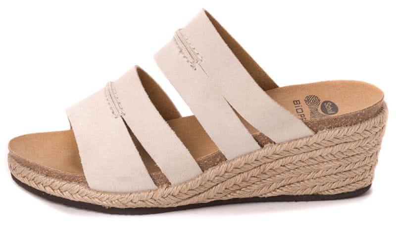 Scholl dámské pantofle Filia 39 béžová