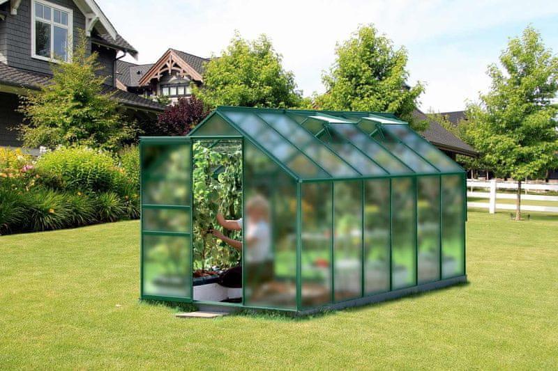 VITAVIA skleník VITAVIA VENUS 7500 matné sklo 4 mm zelený
