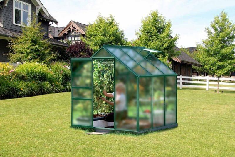 VITAVIA skleník VITAVIA VENUS 3800 matné sklo 4 mm zelený