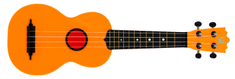 Woodi UK-21OR(BK) Akustické ukulele