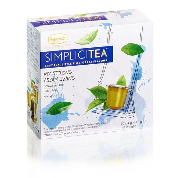 Ronnefeldt Simplicitea Strong Assam Swing 10 kapslí