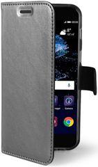 Celly Flip-kryt Air (Huawei P10 Lite), stříbrná