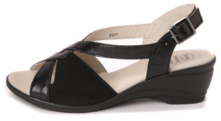 Scholl ženski sandali Rosina 41 črna