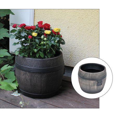 Roto cvetlično korito Bolero S, 36 x 36 x 36 cm