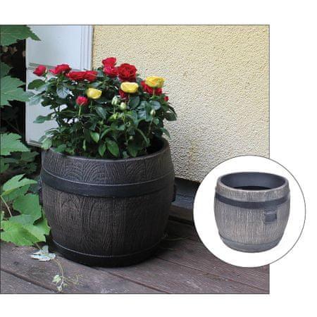 Roto cvetlično korito Bolero L, 49 x 49 x 39 cm