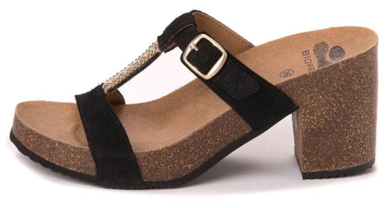 Scholl dámské pantofle Ellesmere 36 černá