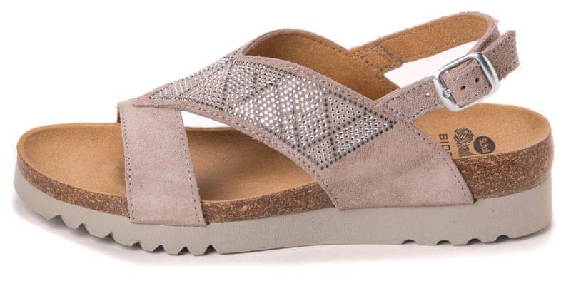 Scholl dámské sandály Karin 41 šedá