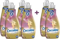 Coccolino Creations Honeysuckle & Sandalwood aviváž 4+2 ks zdarma