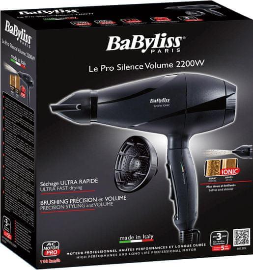 BaByliss 6613DE - rozbalené