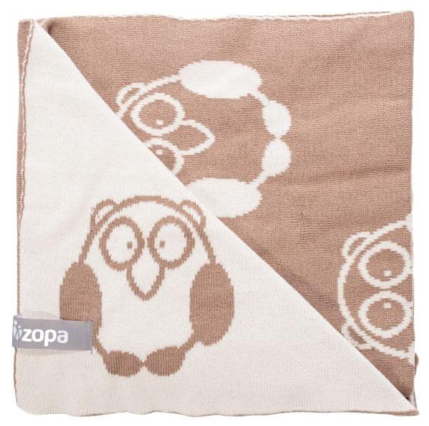 ZOPA Dětská deka Little Owl, Savana