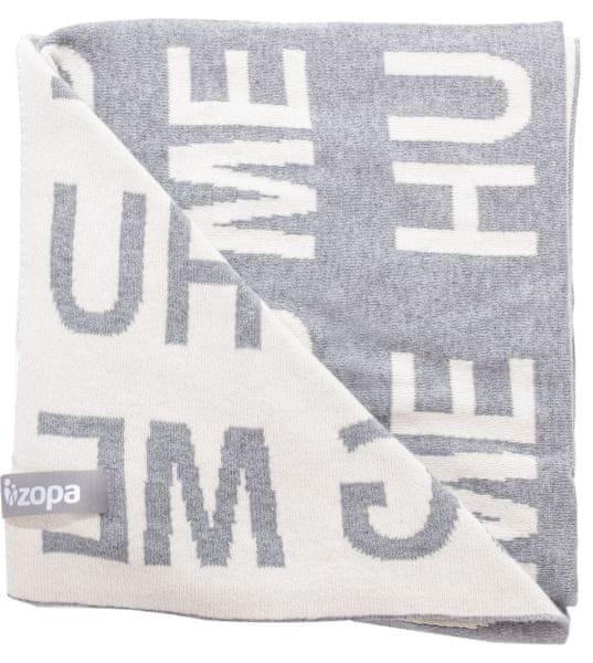 ZOPA Dětská deka Hug Me, Grey