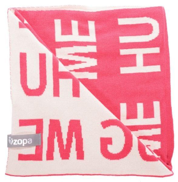 ZOPA Dětská deka Hug Me, Redwine