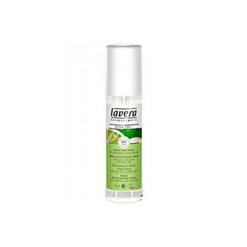 Lavera Svěží deo sprej BIO Verbena - BIO Limetka (Deo Spray) 75 ml (Objem 75 ml )