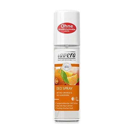 Lavera Svěží deo sprej BIO Pomeranč - BIO Rakytník (Deo Spray) 75 ml