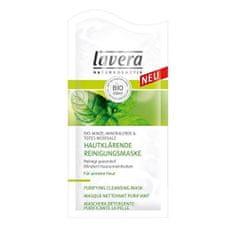 Lavera Hĺbková čistiaca maska Bio Mäta, soľ z mŕtveho mora & minerálne íl (Purifying Cleansing Mask) 10 ml