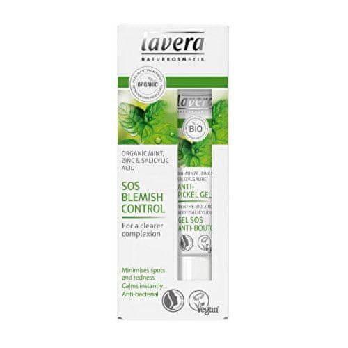 Lavera SOS gel na akné Bio máta, zinek & kyselina salicylová (SOS Blemish Control) 15 ml